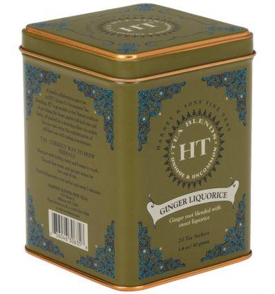 Herbata Harney & Sons Ginger Liquorice - 20 szt