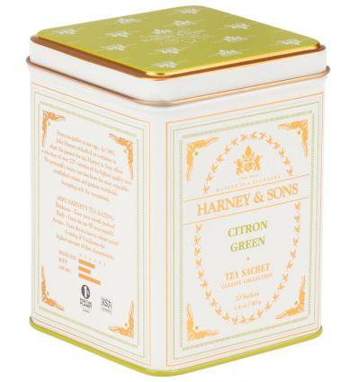 Herbata Harney & Sons Citron Green - 20 szt