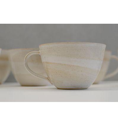 Kubek ceramiczny Toska Ceramica White Big Tea Cup 350 ml
