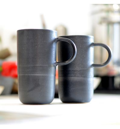 Kubek ceramiczny Toska Ceramica Graphit Mug Handmade 290-315 ml