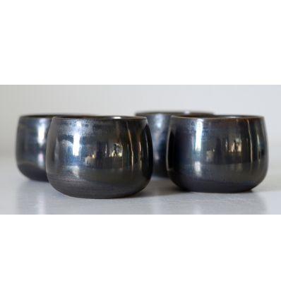 Kubek ceramiczny Toska Ceramica Old Brown Cup Handmade 160-180 ml