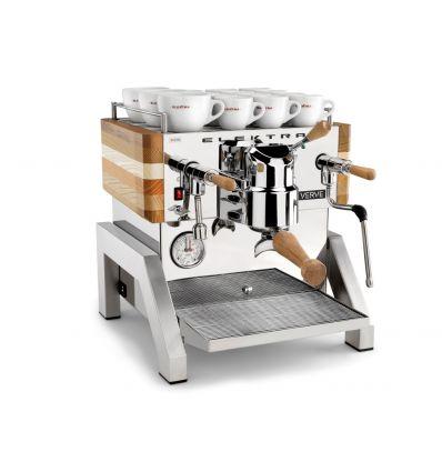 Zestaw Ekspres do kawy Elektra Verve + Młynek do kawy - Eureka Mignon Specialita Jasnoszary