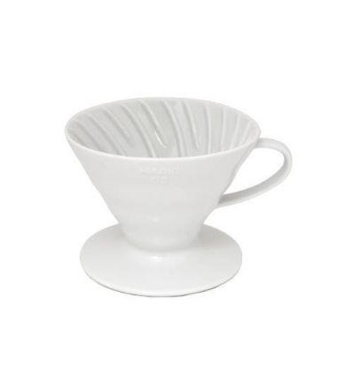 Hario ceramiczny Dripper V60-01 Biały