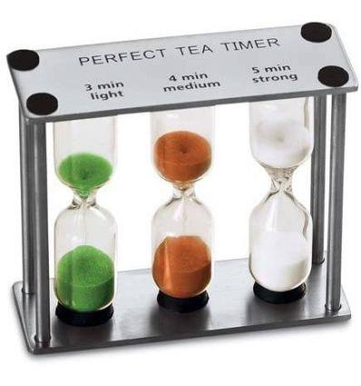 Klepsydra do parzenia herbaty liściastej
