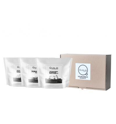 Qualia Szczecin Pack - 3 x 250 g Kawy Szczecińskie Klimaty