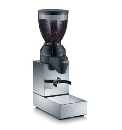 Młynek do kawy GRAEF CM 850 zintegrowany z szufladą z odbijakiem kolby