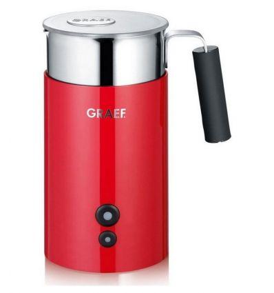 Spieniacz do mleka GRAEF MS 703 Czerwony - elektryczny