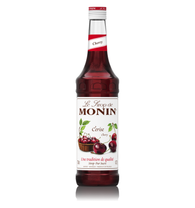 Syrop Monin Cherry - Wiśnia - 700 ml
