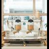 Ekspres do kawy Sanremo Coffee Machines Café Racer White & Wood 2 Gr Slim