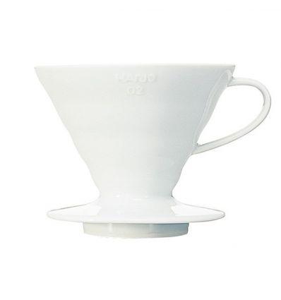 Hario ceramiczny Dripper V60-02 Biały