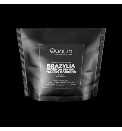 Kawa ziarnista / mielona Qualia Brazylia Fazenda Pinhal Yellow Bourbon - 250 g