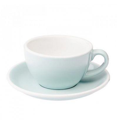 Loveramics Egg - Filiżanka i spodek Latte 300 ml - River Blue