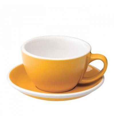 Loveramics Egg - Filiżanka i spodek Latte 300 ml - Yellow