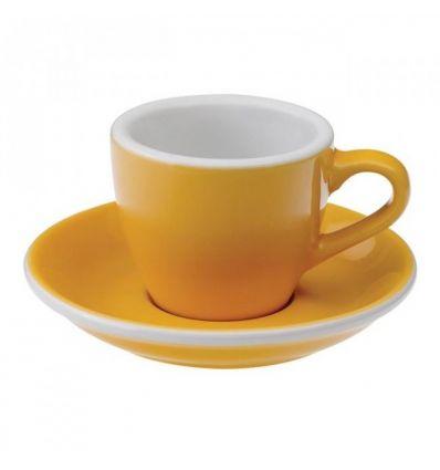 Loveramics Egg - Filiżanka i spodek Espresso 80 ml - Yellow