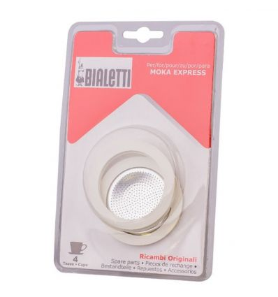 Uszczelki do kawiarek aluminiowych Bialetti 3-4tz