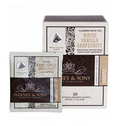 Herbata Harney & Sons White Vanilla - 20 szt