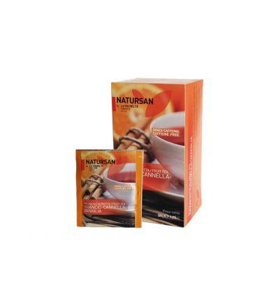 Herbata ekspresowa Natursan Pomarańcza- Cynamon - Wanilia - 25 szt