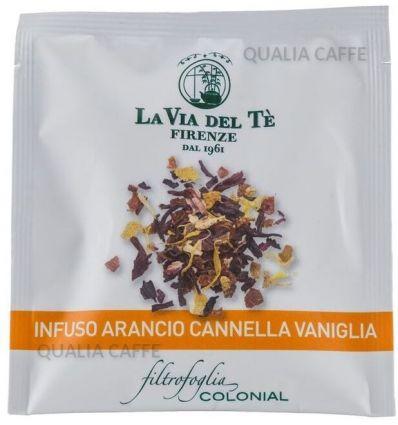 Herbata La Via Del Te Pomarańcza - Cynamon- Wanilia - 100 szt