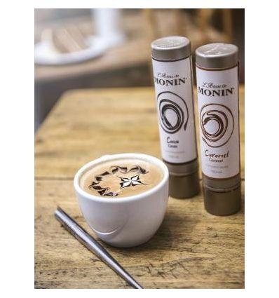 Monin Pisak Latte Art Karmelowy - 150 ml