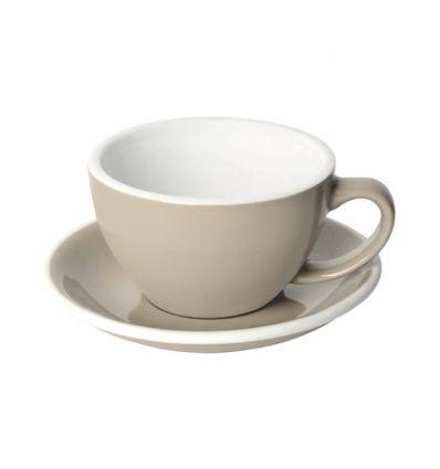 Loveramics Egg - Filiżanka i spodek Cafe Latte 300 ml - Taupe