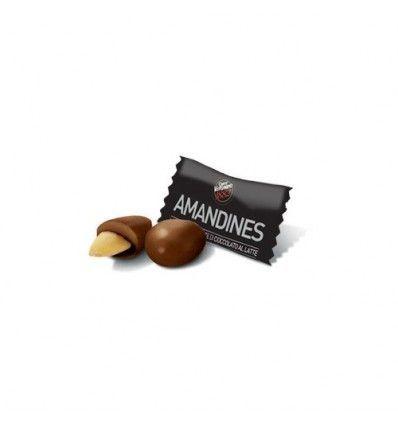 Migdały w gorzkiej czekoladzie
