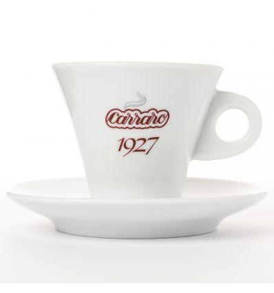 Carraro Filiżanka i spodek - Espresso Biała